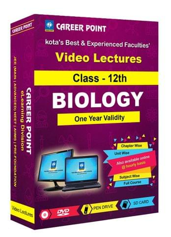 Class-12th Biology for 1 Yr Video Lectures NEET | AIIMS(Mixed Language-E/H)