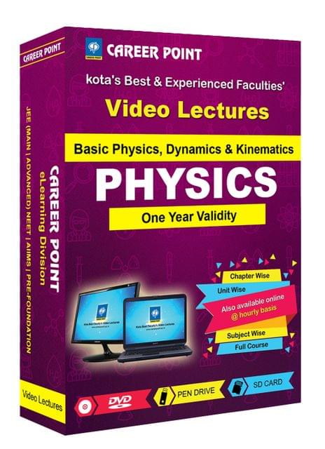Basic Physics , Dynamics & Kinematics | JEE & NEET | Validity 1 Yr | Medium : Mixed Language (E & H)