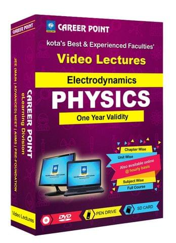 Electrodynamics | JEE & NEET | Validity 1 Yr | Medium : Mixed Language (E & H)