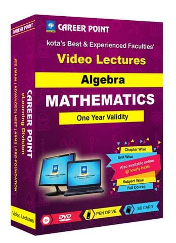 Algebra | JEE Main & Advanced | Validity 1 Yr | Medium : Mixed Language (E & H)