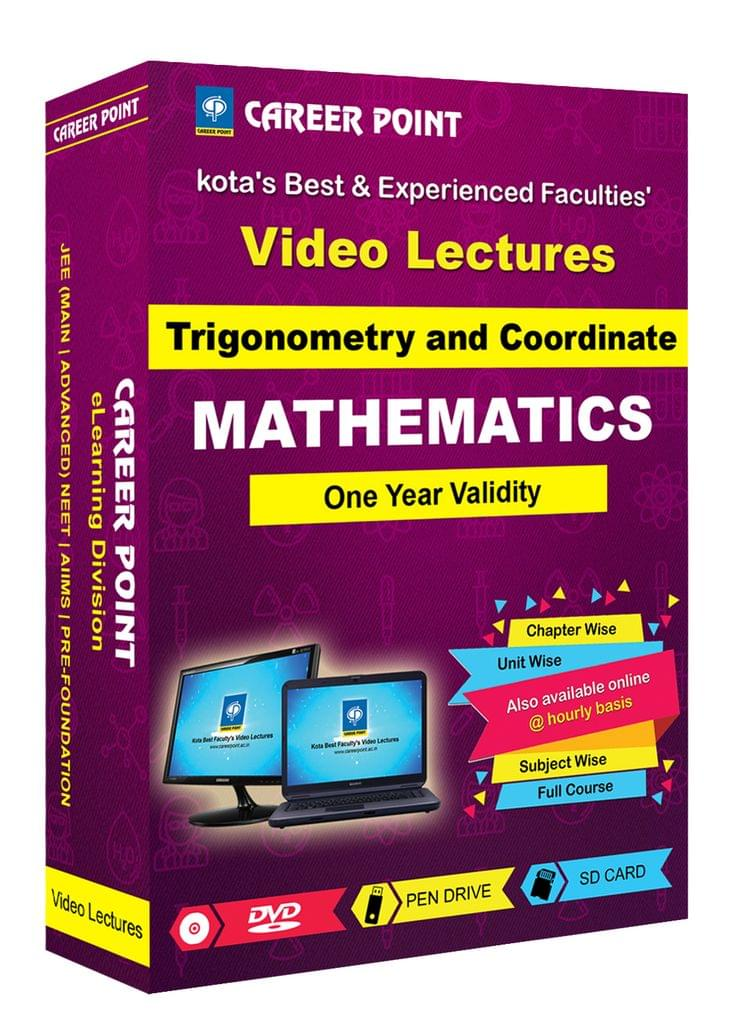 Trigonometry and Coordinate for 1 Yr Video Lectures JEE(Mixed Language-E/H)
