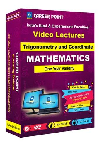 Trigonometry and Coordinate | JEE Main & Advanced | Validity 1 Yr | Medium : Mixed Language (E & H)