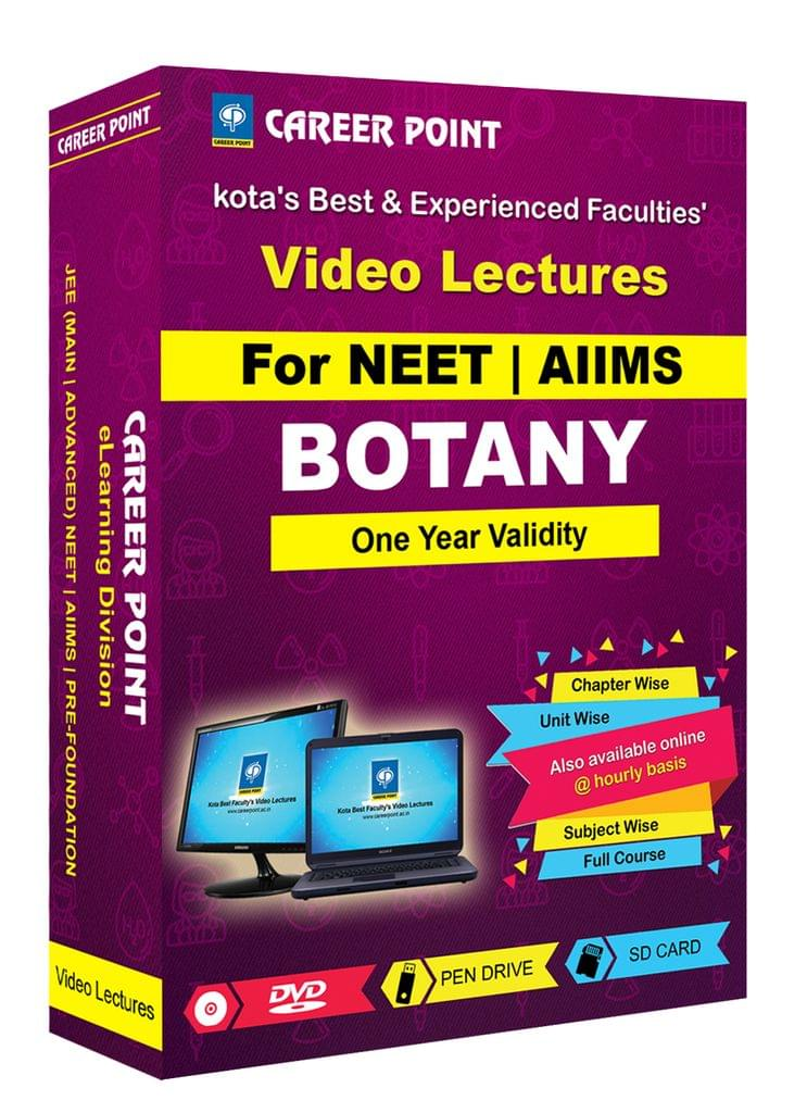 Botany for 1 Yr Video Lectures NEET(Mixed Language-E/H)