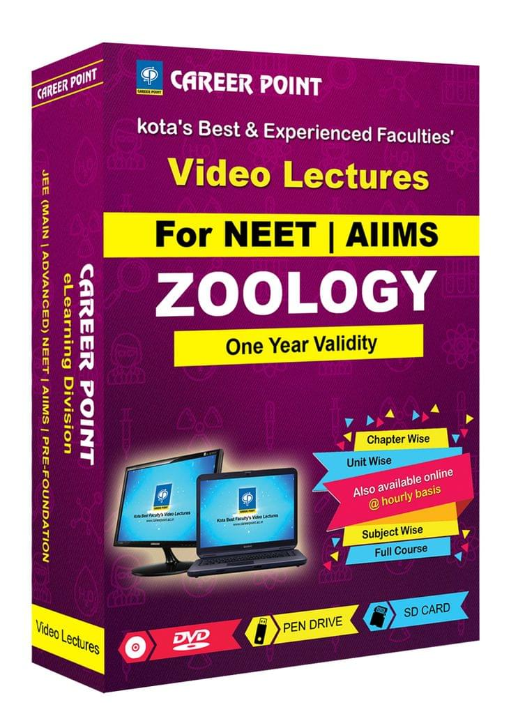 Zoology for 1 Yr Video Lectures NEET(Mixed Language-E/H)