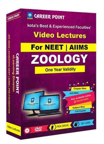 Zoology (1 Yr)  Video Lectures For NEET  in Mixed Language(E/H)