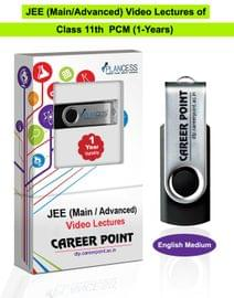 Video Lectures for JEE Main & Advanced   PCM (Class 11th)   Validity 1 Yr   Medium : English Language