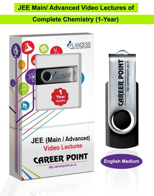 Chemistry (11th+12th) for 1 Yr Video Lectures JEE Main | Advanced(English Medium)