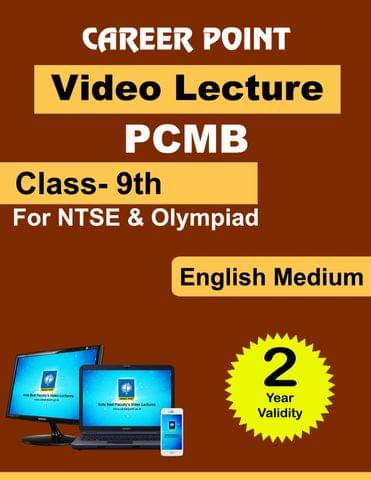 Class-9th PCMB for 2 yrs Video Lecture for NTSE | Olympiad(English Medium)