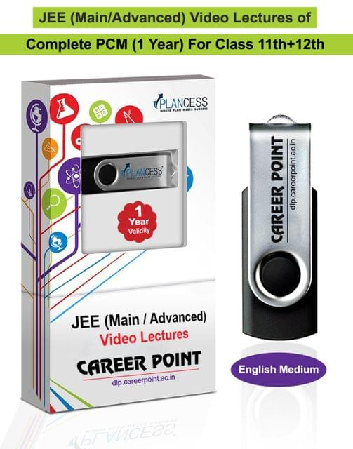 Video Lectures for JEE Mains & Adv | PCM (11th+12th) | Validity 30 May 2019 | Medium : English Language