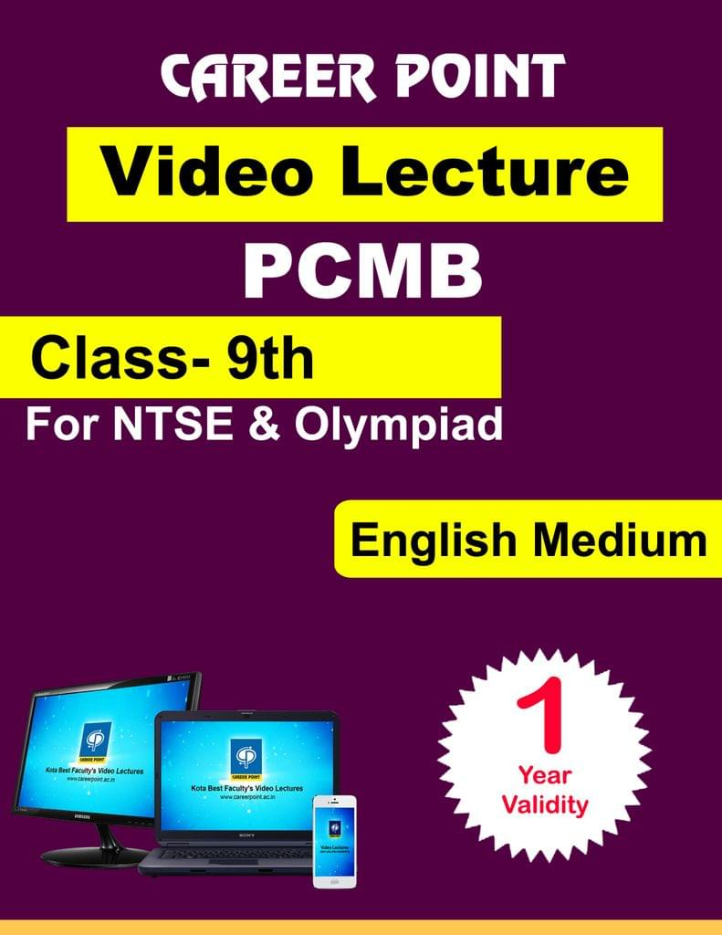 Class-9th PCMB for 30 May 2019 Video Lecture for NTSE | Olympiad(English Medium)