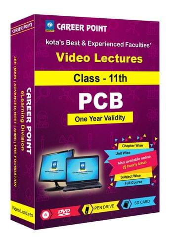 Video Lectures for NEET & AIIMS   PCB (Class 11th)   Validity 30 May 2019   Medium : Mixed Language-E/H