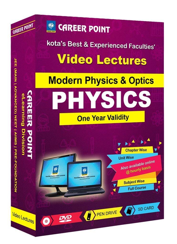 Modern Physics & Optics | JEE & NEET | Validity 30 May 2019 | Medium : Mixed Language (E & H)
