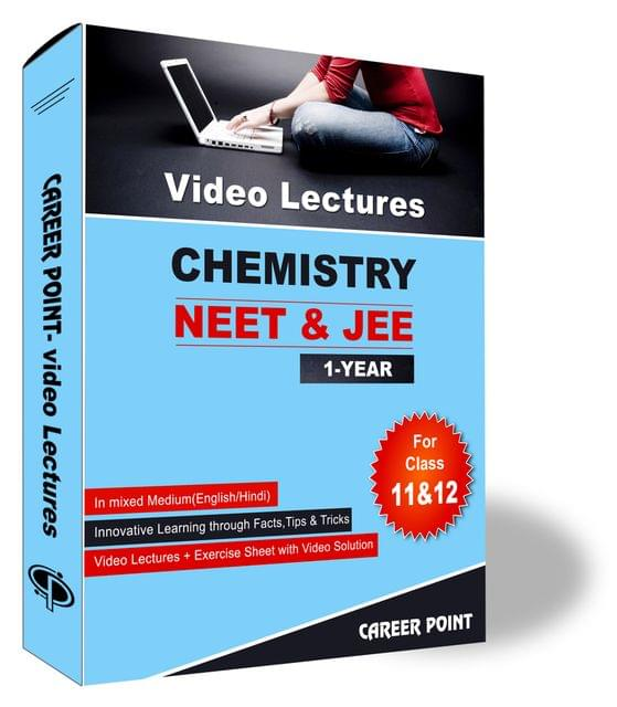 Chemistry Video Lectures (11th+12th) | JEE & NEET | Validity 30 May 2019 | Medium : Mixed Language (E & H)