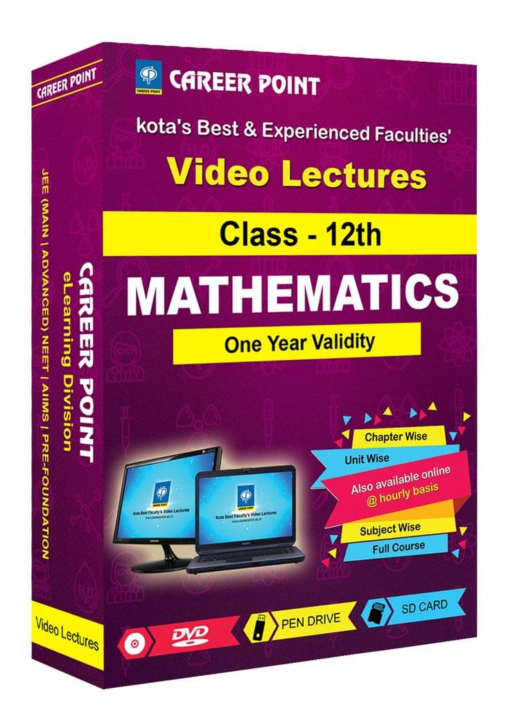 Class 12th Maths for 30 May 2019 Video Lectures JEE Main/Advance(Mixed Language-E/H)