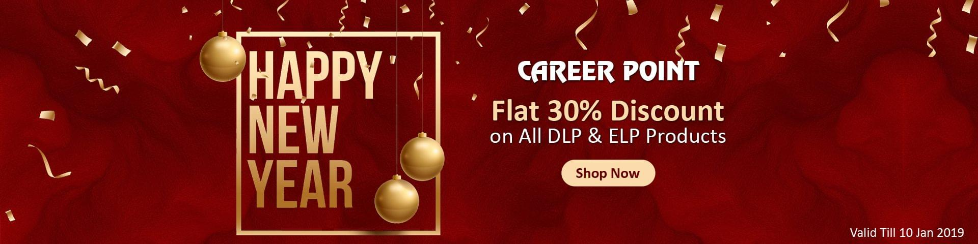 Flat 30% New Year Offer On DLP Products