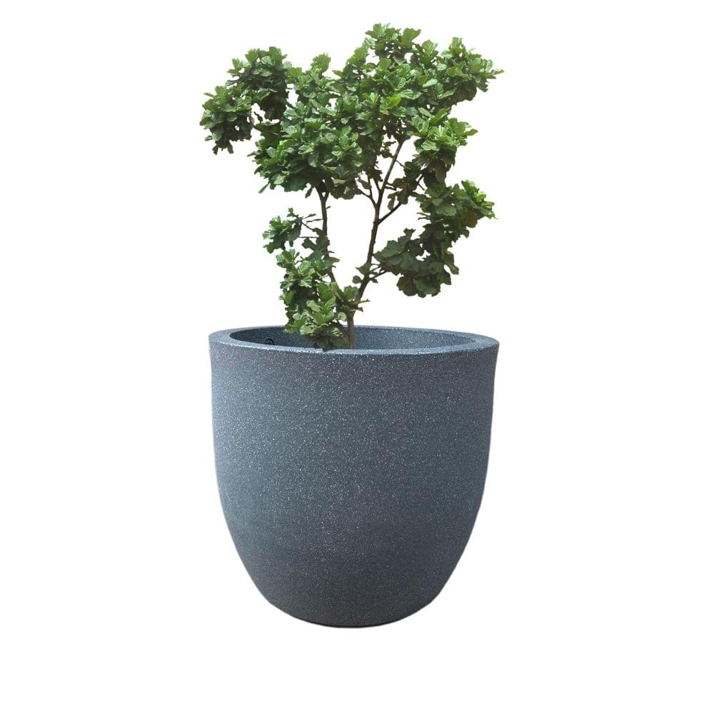 YUCCABE FOXB Pcup grey 14 Inches Planter
