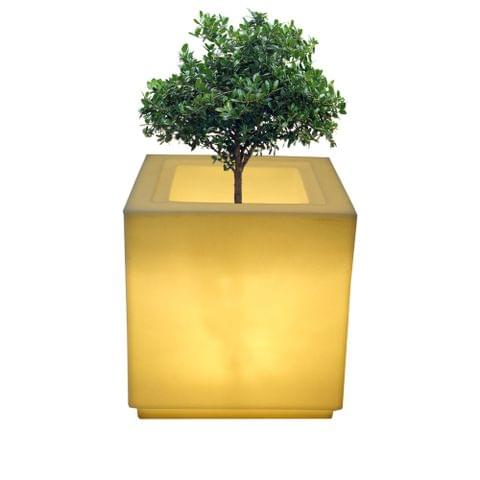 LED cube 18 Inches Planter