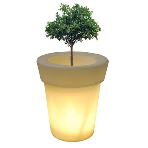 LED Eln 20 Inches Planter