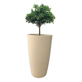 Yuccabe Fox B VNR 24 inches Beige Round Planter