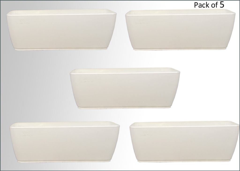 Pack of 5 Cabi Tray 16 Inches  Planter