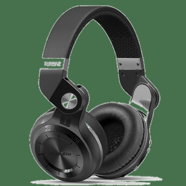 Bluedio T2 Plus Turbine Wireless Bluetooth Headphones (Black)