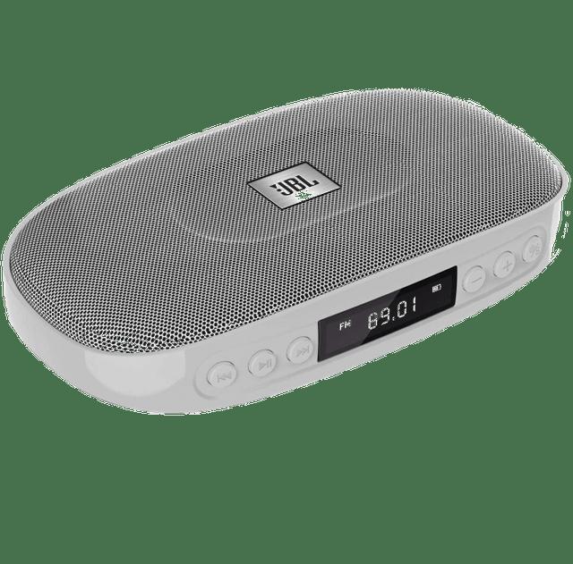JBL Tune Wireless Bluetooth Speaker with SD Card reader (JBLTUNESILVER, Silver)