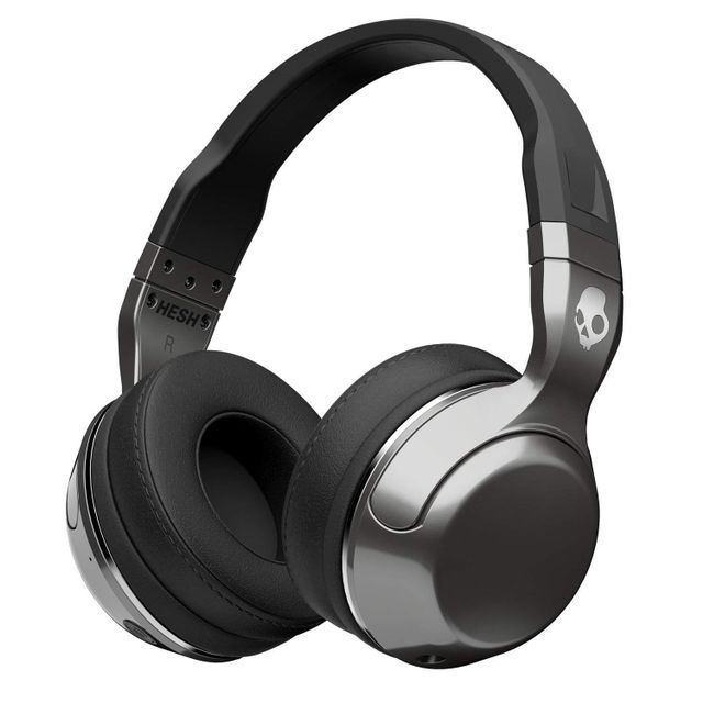 Skullcandy Hesh 2 Bluetooth Wireless Headphones (Black/Silver) with Mic