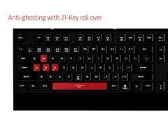 GAMDIAS Hermes Lite Gaming Keyboard (GKB1000RD)