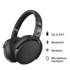 Sennheiser HD 4.40-BT Bluetooth Headphones (Black)