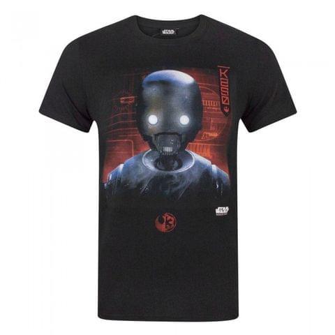 Star Wars Mens Rogue One K2S0 Robot T-Shirt