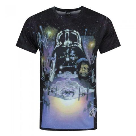 Star Wars Mens Empire Strikes Back Sublimation T-Shirt