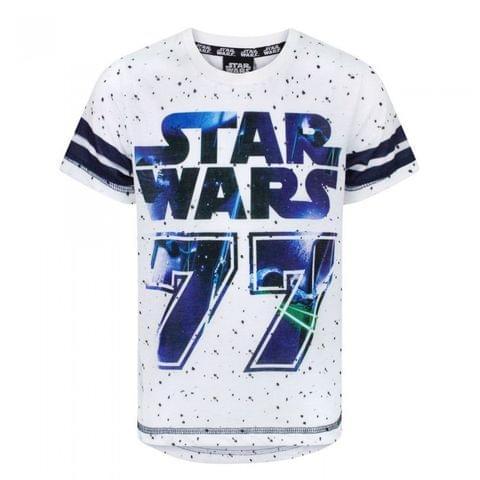 Star Wars Childrens/Boys 77 Baseball T-Shirt