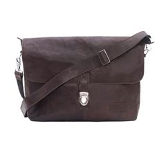 Single Loop Every Day Satchel Bag Brown