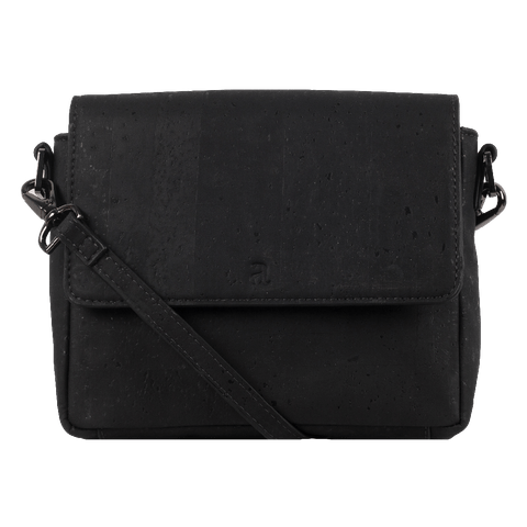 Yara Cork Convertible Sling - Black
