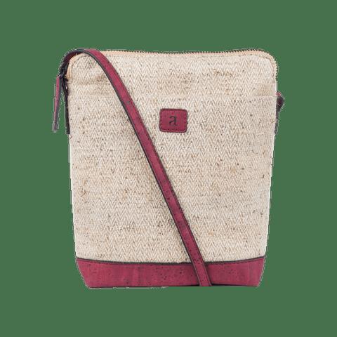Ava Nettle Sling bag - Maroon