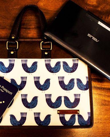 Laptop Carrycase (MacBook Users) Blue Birds