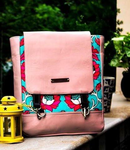 Flamingo Pink Pitthoo Backpack