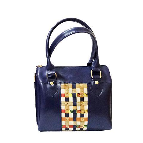 Blue Mini Duffle Bag