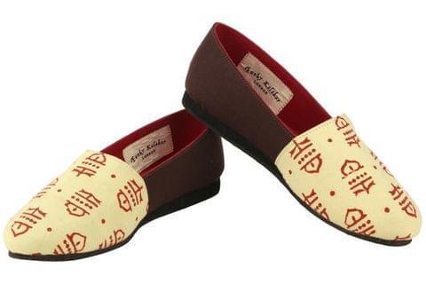 Cherry Rune | Handcrafted Vegan Slip-On Shoes