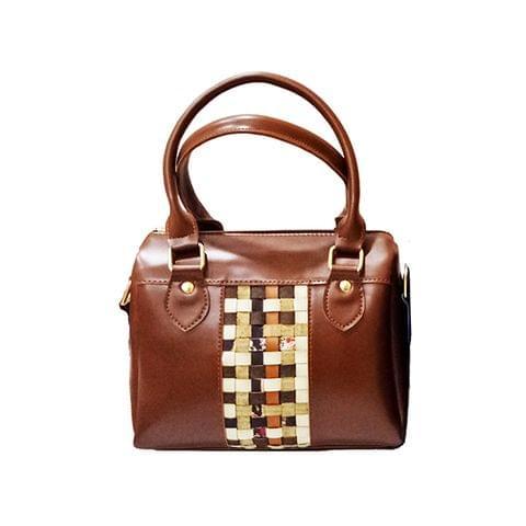 Brown Mini Duffle Bag