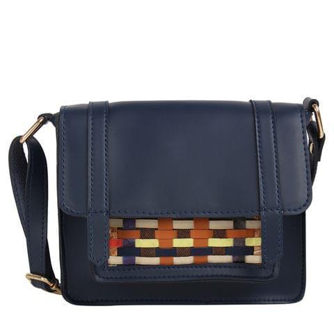 Blue Pocket Pop Sling Bag