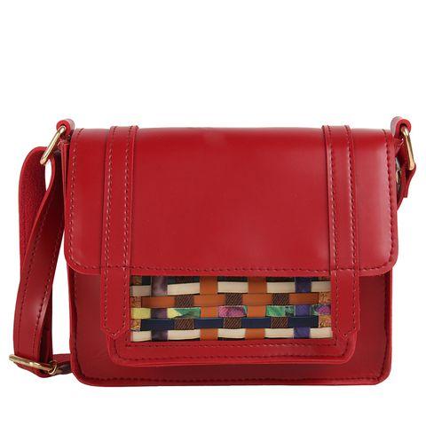 Maroon Pocket Pop Sling Bag