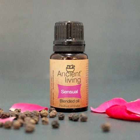 Organic Sensual Blended Oil - 10 ml