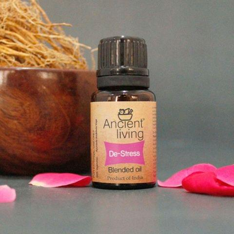 Organic De-stress Blended Oil -10 ml