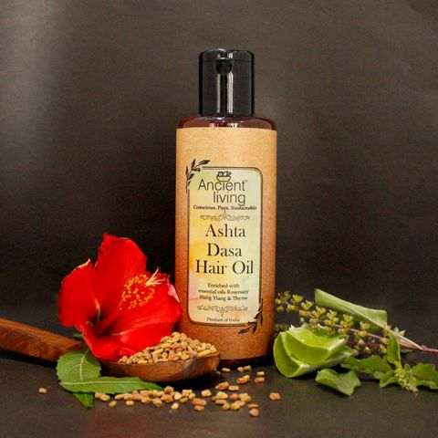 Organic Ashta Dasa Hair Oil -100ml