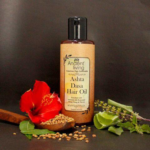 Organic Ashta Dasa Hair Oil -200ml