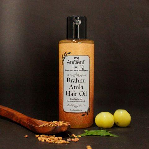 Organic Brahmi & Amla Hair oil -50ml