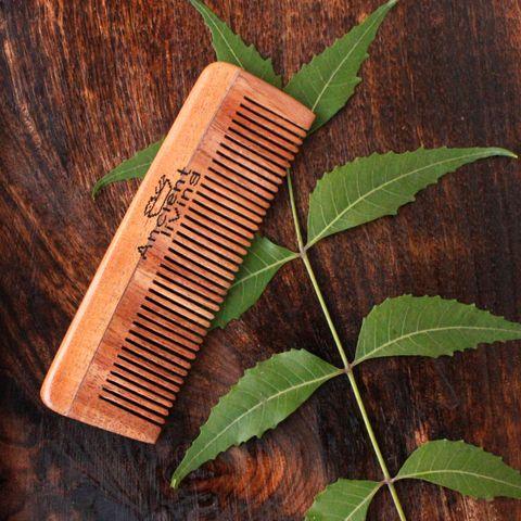 Neem Wood Pocket Comb