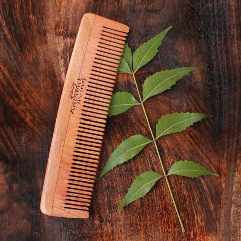 Neem Wood Comb (Single Teeth)