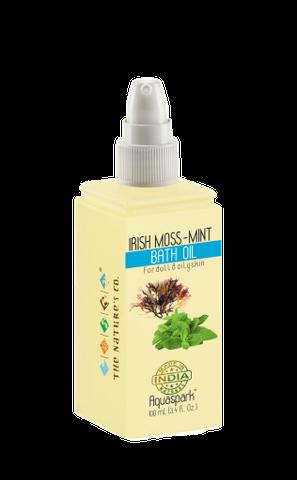 IRISH MOSS -MINT BATH OIL (100 ml)